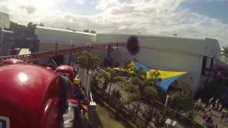 GOPRO: Superman Escape roller coaster (Movie World)