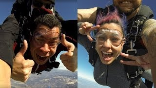 Sky Dive Vlog - Happy Birthday Red!!