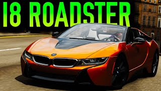 BMW I8 ROADSTER Online MINI GAMES (Infected & King) | Forza Horizon 4!