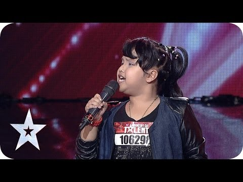 8-Year-Old Ariani Nisma Putri Sings Listen by Beyonce - AUDITION 4 - Indonesia