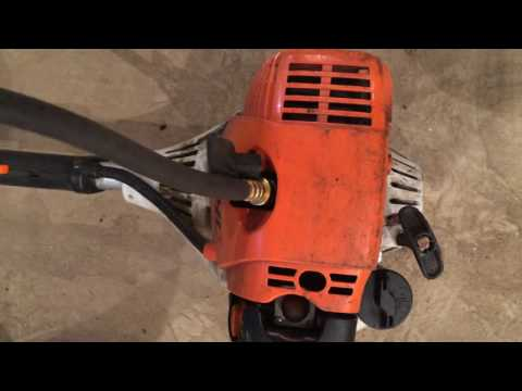 How to compression test a Stihl FS90R Trimmer Weedeater