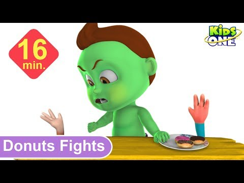 BABY HULK Fights for DONUTS | Best Funny Pranks for Kids - KidsOne