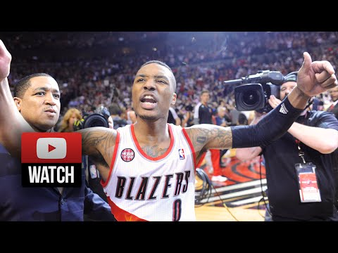 Damian Lillard Full Highlights vs Rockets 2014 Playoffs West R1G6 - 25 Pts, AMAZING Game-Winner!