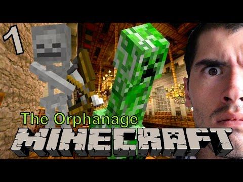 TERROR EN MINECRAFT Minecraft: The Orphanage 1 JuegaGerman