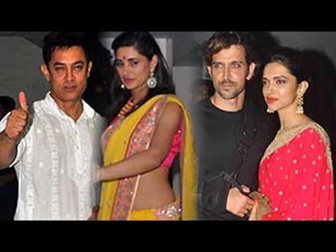 Aamir Khan's Grand Diwali Bash video
