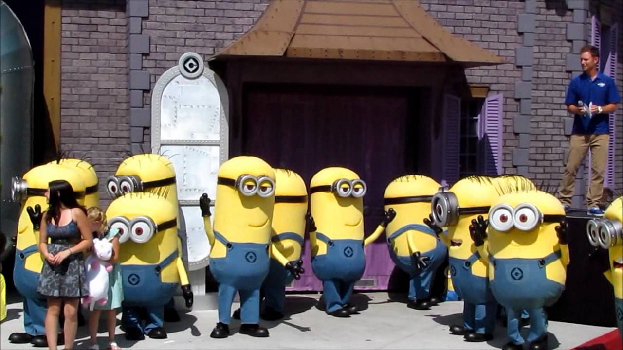 Despicable Me Minion Mayhem Grand Opening At Universal