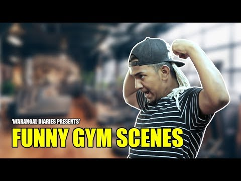Funny Gym Scenes | Hyderabadi Comedy | Warangal Diaries