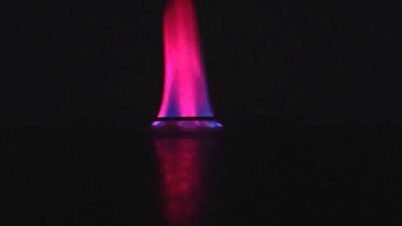 Strontium Chloride Flame