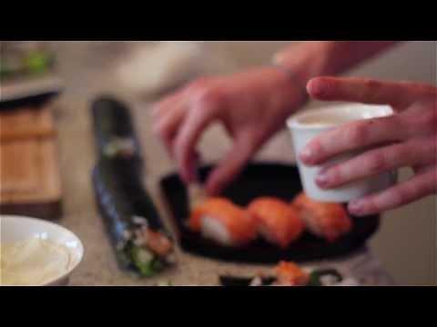 Sushi - Jak Zrobić Sushi Z łososia I Tuńczyka W Domu? Przepis - Nigiri / Futomaki / Hosomaki
