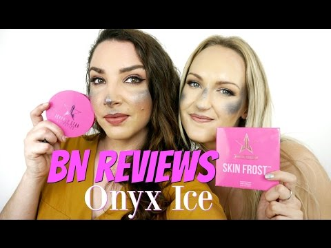 BEAUTY NEWS REVIEWS - Jeffree Star Skin Frost Onyx Ice   First Impressions & Demo