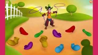 Mickey Mouse Clubhouse Full Episodes Games TV - Goofys Wild Shoe Round Up!