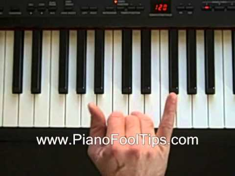 Free Video Piano Lessons-Finding the Cm Chord