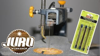 Changing pinless blades on the wen scroll saw how to change a scroll saw blade 16 inch mastercraft scroll saw ryobi keyboard keysfo