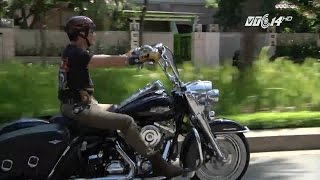 (VTC14)_Thú chơi mô tô phân khối lớn Harley của người Việt