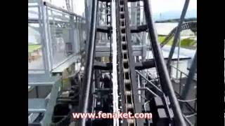 Scary Steep Roller Coaster - Korkunç Lunapark