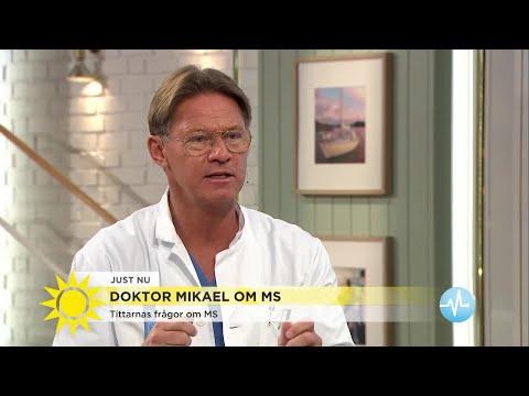 Så stor är risken att du får MS om du har det i släkten - Nyhetsmorgon (TV4)