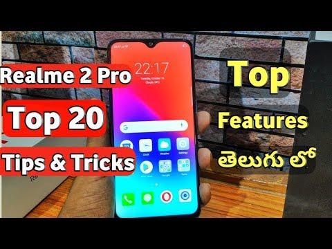 Realme 2 Pro Top 20 Tips & tricks Hidden Features in telugu I tech24 I