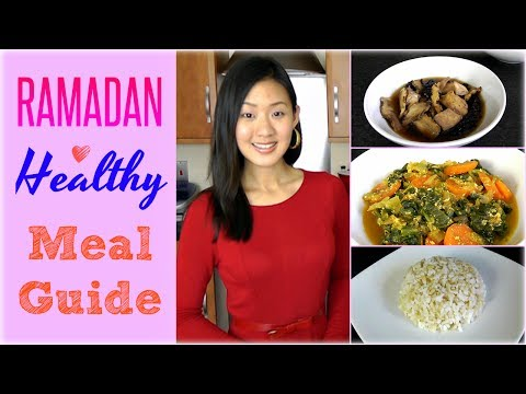 RAMADAN Healthy Meal Guide & Recipes