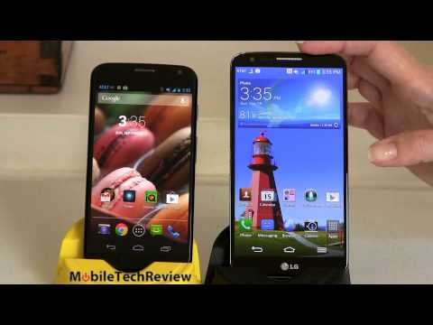 LG G2 vs.  Moto X Comparison Smackdown