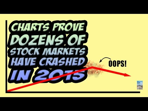 These Charts PROVE Dozens of Stock Markets Have Crashed in 2015!