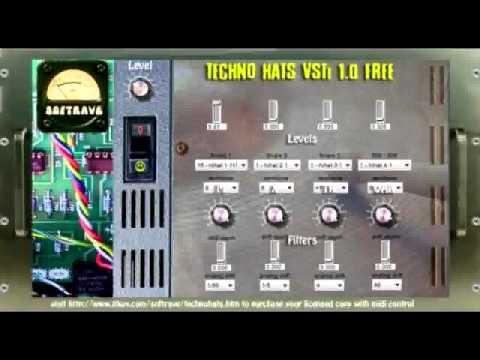 Techno Hats VSTi Free 1.0 by Softrave audio demo