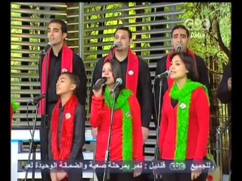 مبارك شعبي مصر لفريق كرمال الصليب