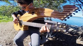 Simple Man - Lynyrd Skynyrd - Harp Guitar Cover - Jamie Dupuis