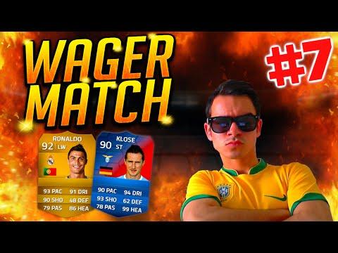 FIFA 14 WAGER MATCH #7 : Cristiano Ronaldo & Klose (Record Breaker) !! [FACECAM] HD