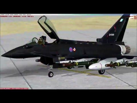 [FSX SE] Flightsimguy Reviews JustFlights Implementation of the Eurofighter aka Typhoon