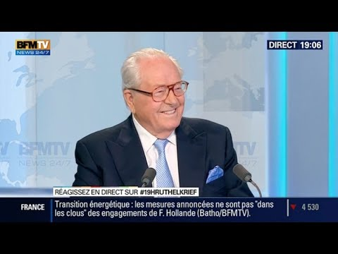 Jean-Marie Le Pen: L'invité de Ruth Elkrief -- 18/06
