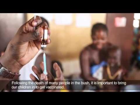 Emergency Measles Vaccination Campaign in Central African Republic