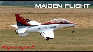 VIPERJET MK2 RC airplane MAIDEN FLIGHT