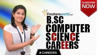 CAREERS IN B.Sc COMPUTER SCIENCE - M.Sc,DEGREE,Job Opportunities,Salary Package