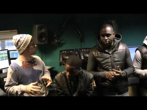 Logan Sama: Ruff Sqwad Interview Kiss Radio | 04.02.12 | Grime, UKG, Rap