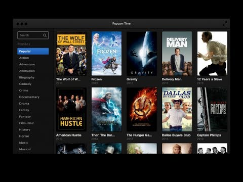 POPCORN TIME 3 antes Popcorn Time, THE BEST Películas ONLINE, como Netflix pero GRATIS