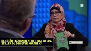 Stiller du deg over Koranen og sier at homofili er lov i islam? | Fahad Qureshi og Trine Skogen