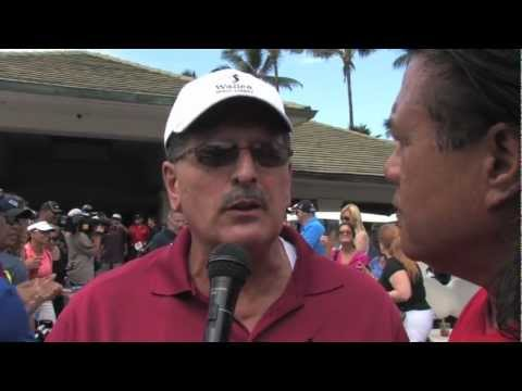 Mike Victorino interview Shane Victorino Foundation Golf Classic - Na Koa Ikaika in the Community