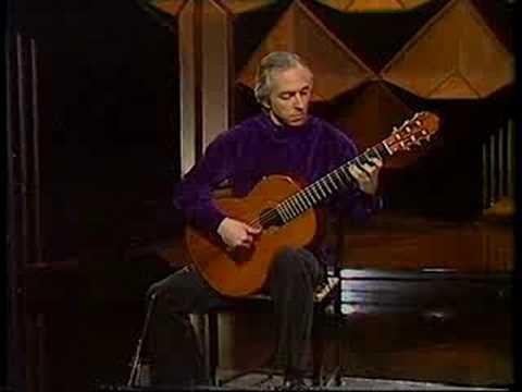 John Williams Plays: Vals op. 8 No 4; by Agustin Barrios Mangore.