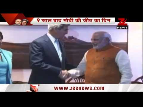 John Kerry and PM Modi's high level meet
