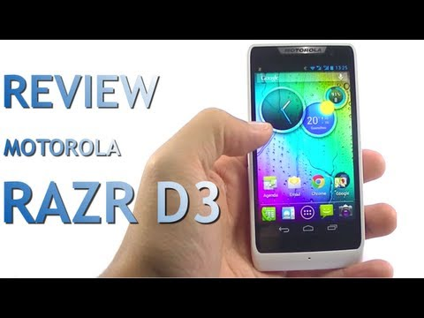 Review do Motorola RAZR D3 - Potência ao alcance do bolso