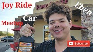 Joy Ride Car Meetup at Roma Coffee