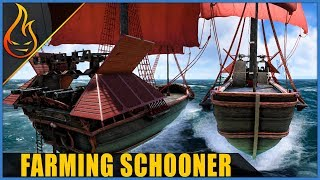 Ultimate Multipurpose Farming Schooner Atlas MMO Build Guide
