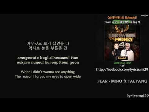 FEAR (겁) – MINO Ft. TAEYANG [HAN/ROM/ENG LYRIC VIDEO]