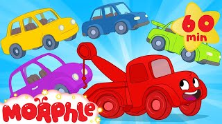 Learn colors with Morphle and cars! Color and car videos for kids