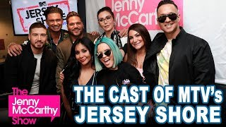 The Cast of MTV's Jersey Shore on The Jenny McCarthy Show