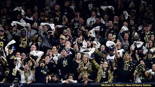 Saints Fans' Loudest Moments From NFC Championship Game!