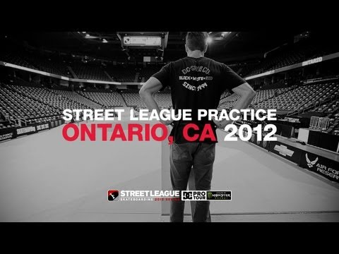 STREET LEAGUE 2012 ONTARIO PRACTICE