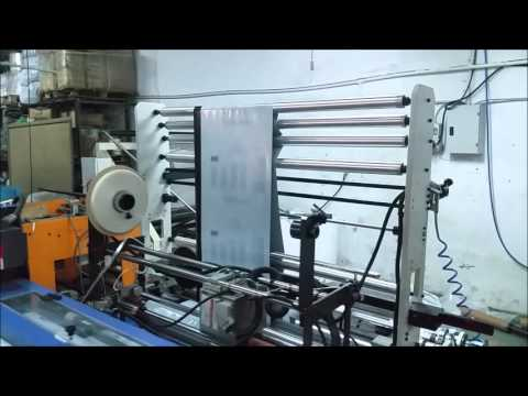 TY-900 CR Courier Bag Making Machine up to 200 bags/minute