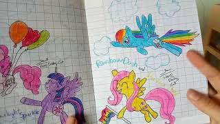 Giới Thiệu Các Tranh vẽ Pony và Sketchbook của Cat - Part 2