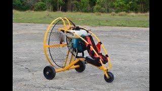paramotor bensin rc ร่มบินบังคับเครื่องตัดหญ้า